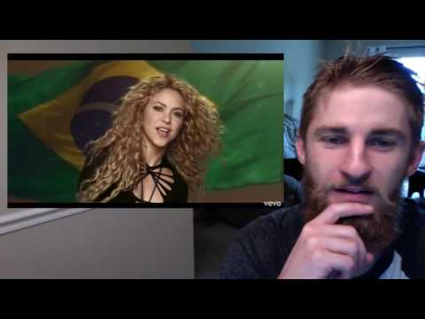Shakira - La La La ft. Carlinhos Brown (REAction)
