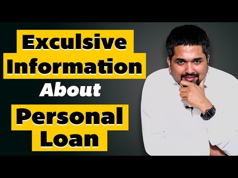 Personal Loan - Interest Rates, Eligibility, Processing Fees - Exclusive Info About Personal Loan