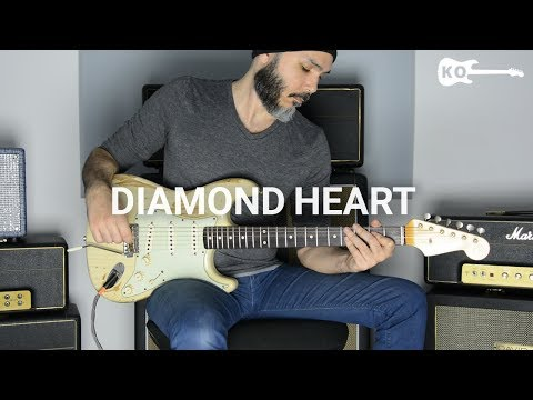 Alan Walker - Diamond Heart - Electric Guitar Cover by Kfir
