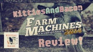 Farm Machines Championships 2014 - Review! The Fastest Tractor in all of Oklahoma