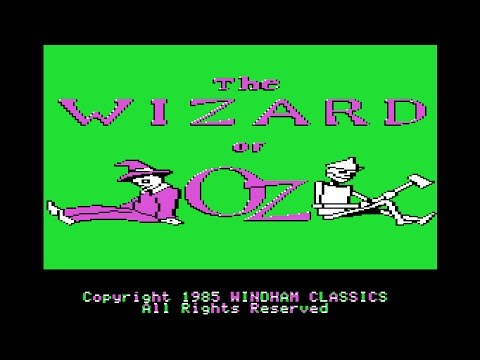 30K views celebration: Wizard of Oz walkthrough (Apple II - Publisher)