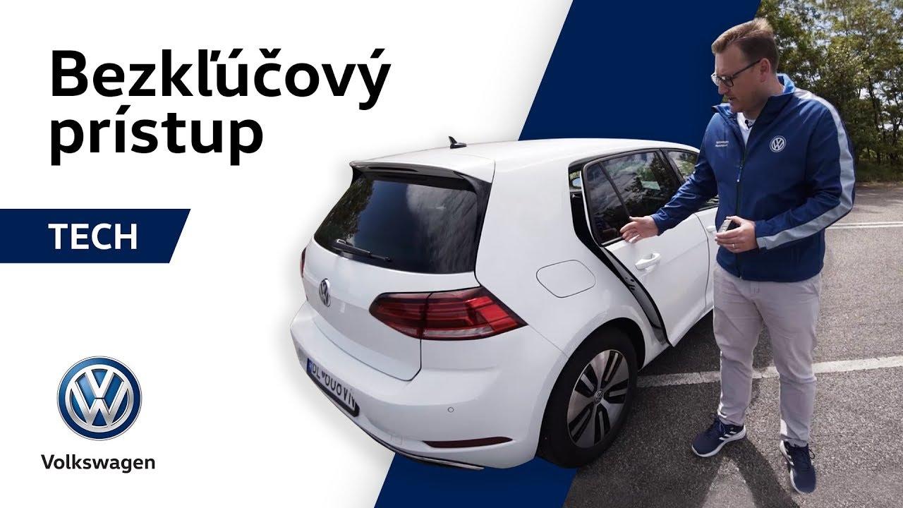 Ako otvoriť auto s nákupom v rukách? | Bezkľúčový prístup - Technológie Volkswagen - YouTube