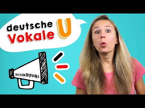GERMAN PRONUNCIATION 4: Learn How to Pronounce the GERMAN VOWELS