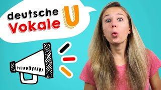 german pronunciation 4 learn how to pronounce the german vowels