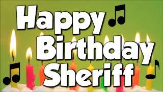 Happy Birthday Sheriff A Happy Birthday Song Youtube