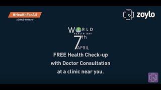 Preventive Health Check-up — #HealthForAll A ZOYLO Initiative