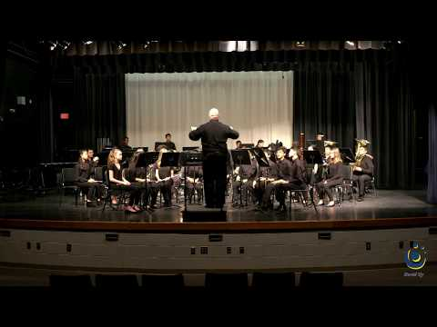 F.J. Carnage Middle School Symphonic Band performs Within the Castle Walls on 3/19/2019