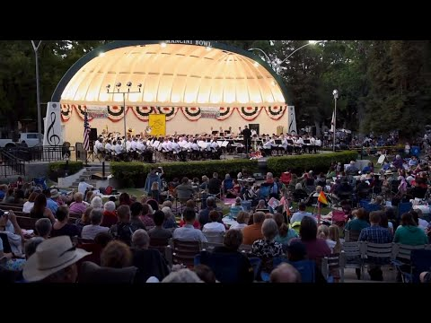 The Modesto Band of Stanislaus County celebrates its 99th Concert in the Park season