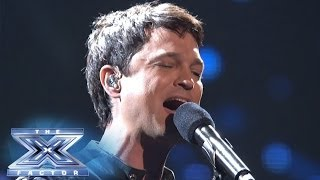 "Jeff Gutt Rocks The Stage With ""Open Arms"" - THE X FACTOR USA 2013"