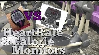 POLAR VS. ELLIPTICAL - HEART RATE AND CALORIE MONITORS - Weight Loss Journey Day 423