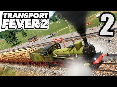 Transport Fever 2 #2 340m langer Zug ! |  Gameplay Deutsch