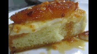 Torta de Abacaxi Que Já Sai Recheada do Forno