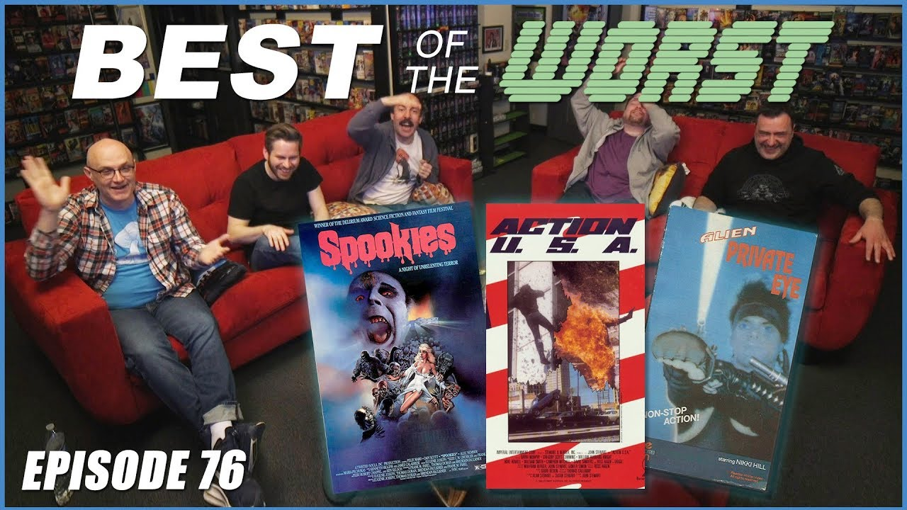 Best Of The Worst Spookies Action Usa And Alien Private Eye Redlettermedia