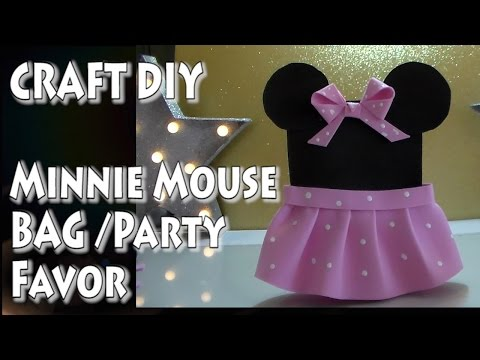 Craft DIY: Minnie Mouse Bag (Party Favor) /by Cup n Cakes Gourmet