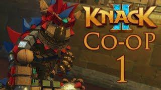Knack 2 (Нэк 2) - кооперативное прохождение игры на русском - Глава 1-1 - Вторжение [#1]