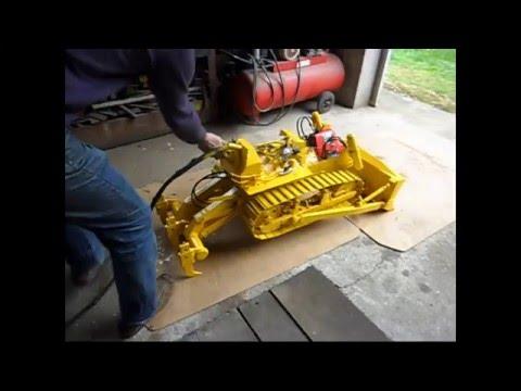 Modèle Réduit - Bulldozer - Fiat-Allis 14B