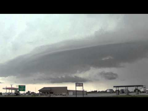 Severe Weather in the Lawton Oklahoma area 26MAY2015