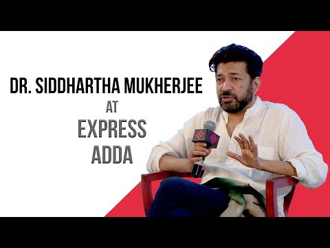 Express Adda With Dr. Siddhartha Mukherjee, Oncologist And Award Winning Author
