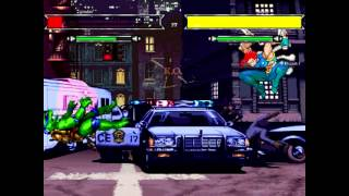 Teenage Mutant Ninja Turtles VS X-Men MUGEN - 7 Fights/ Match / Battle / Fight