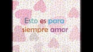 Amor Eterno Camila letra