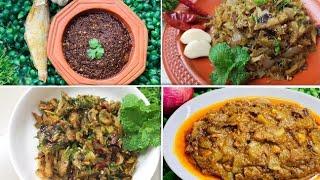 ৪ ধরনের শুটকির ভর্তা ১ বার বানিয়ে ৩/৪দিন খাওয়া যাবে || Bangladeshi Shutki vorta||Bhorta Recipe