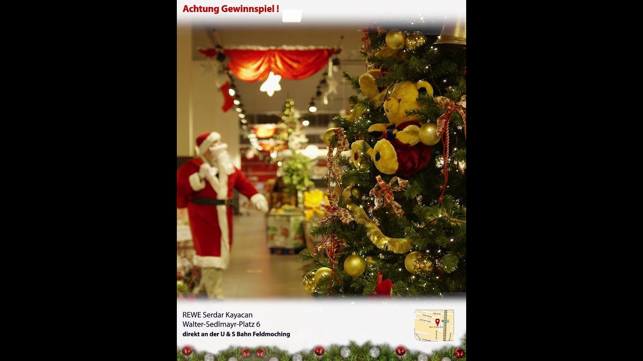 Weihnachtsgewinnspiel REWE Kayacan OHG   Der Weinachtsmann bringt Geschenke   Spot 2/7