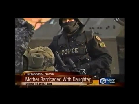Mother Faces Down Swat Team & Tank For Refusing to Drug Daughter