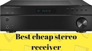 Cheap stereo reveiver