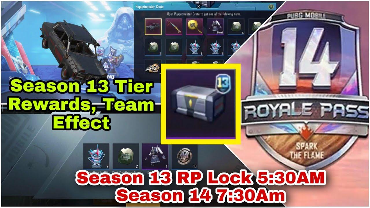 Season 13 PuppetMaster Crate Opening | Season 13 RP Lock, Team Effect | Season 14 Release Timing