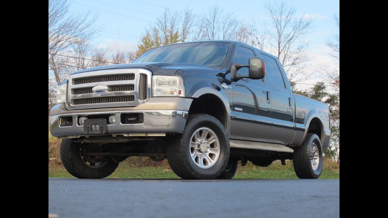 2005 ford f 250 king ranch 4x4 powerstroke sold