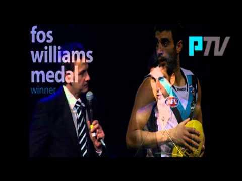 Port Adelaide TV: John Cahill Medal 2011  Dom Cassisi