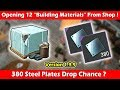 """Opening 12 New """"Building Materials"""" From Shop! Last Day On Earth Survival"""