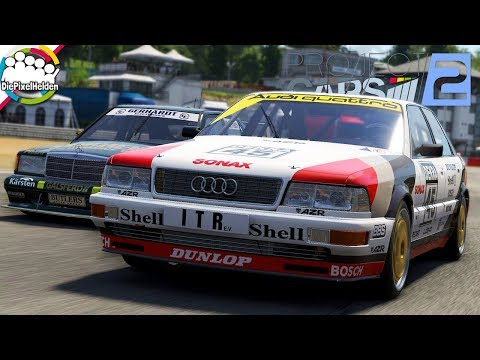 PROJECT CARS 2 - Audi V8 quattro DTM @ Circuit Zolder - Let's Play Project CARS 2