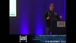 Tech Mesh 2012 - Up up and Out: Scaling Software with Akka - Jonas Bonér