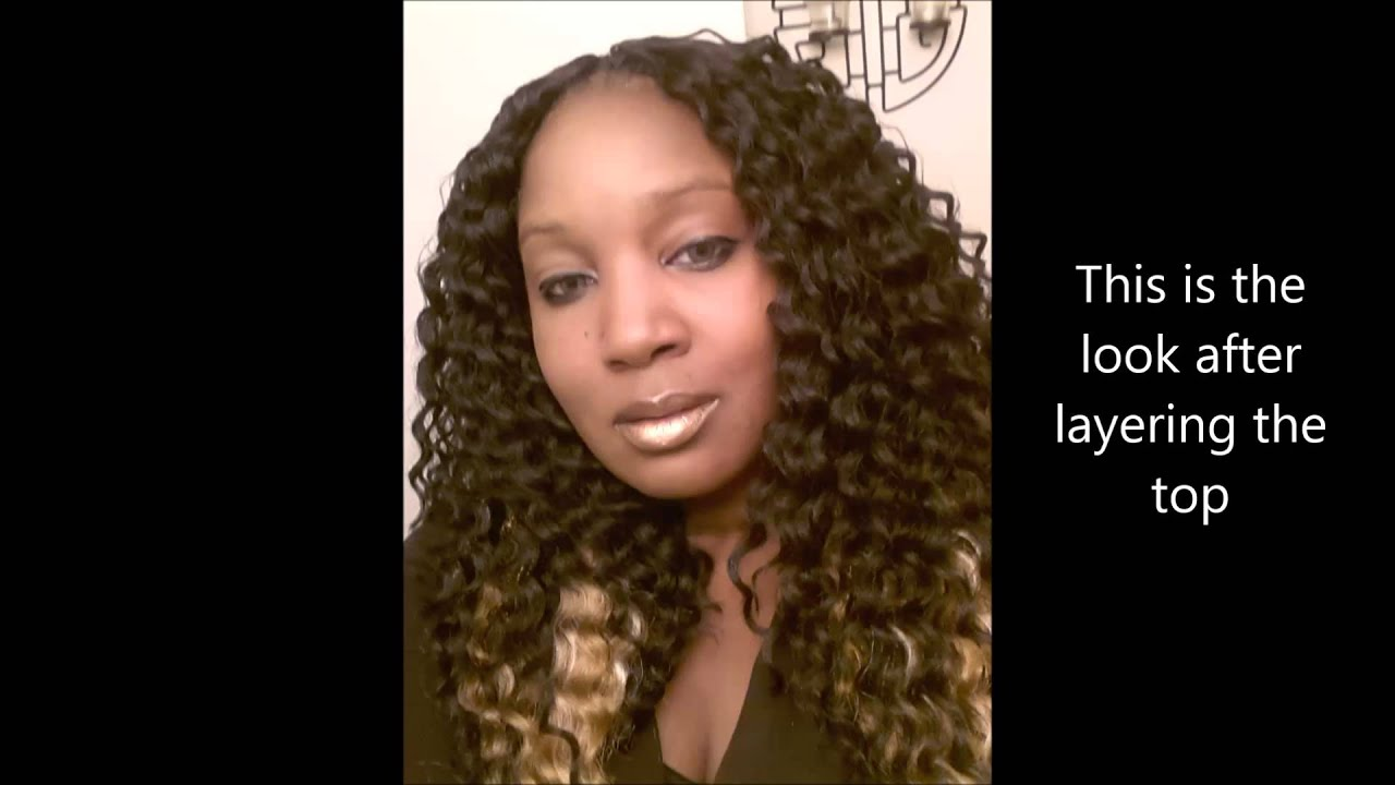 New Glance Bahama Curl Crochet Braids - YouTube
