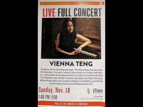 Vienna Teng - November 18, 2018 (part 2)