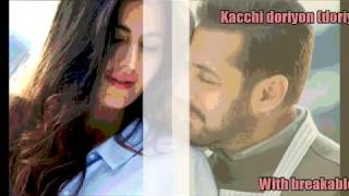 Dil Diyan Gallan Lyrics with English Translation Tiger Zinda Hai 2017 Atif Aslam