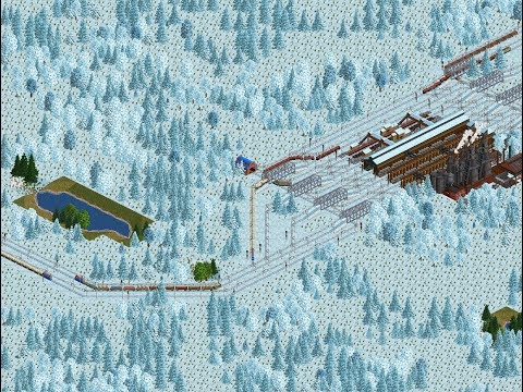 OpenTTD Gameplay Season 02 Series 07 (Subarctical map) - The production chain