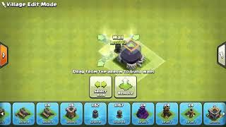Townhall 9 best troll base ever with replays
