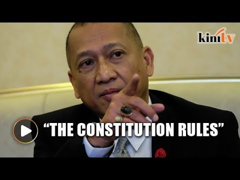 Nazri: Don't go against the Constitution
