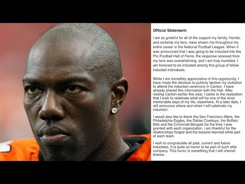 Terrell Owens WILL NOT Show Up For His OWN Hall Of Fame Induction