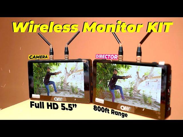 CVW Swift Z | Wireless Video Transmission | 5.5 Inch HD Monitor | CVW Swift Z Unboxing