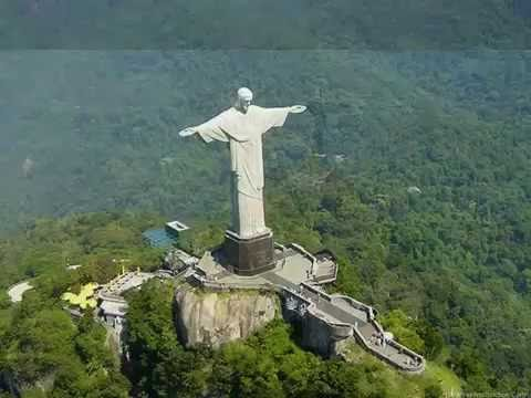 big christ statue in brazil