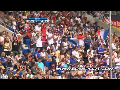 Nigeria 0-1 France [26.06.11] (Women) Highlights HD