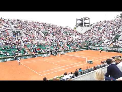 Venus Williams match point vs Alizé Cornet