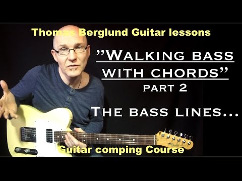 "Walking bass with chords ""part 2"" (Creating bass lines)"