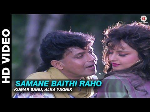 Samane Baithi Raho - Nishana   Kumar Sanu & Alka Yagnik   Mithun Chakraborty & Rekha