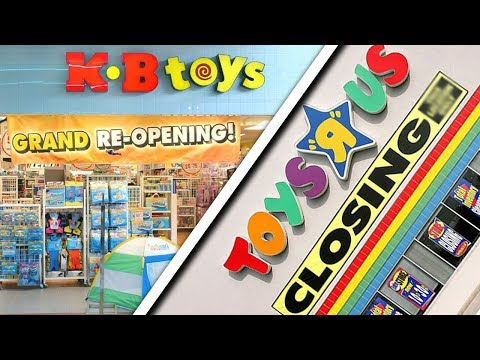 KB Toys Coming Back As Toys R Us Closes