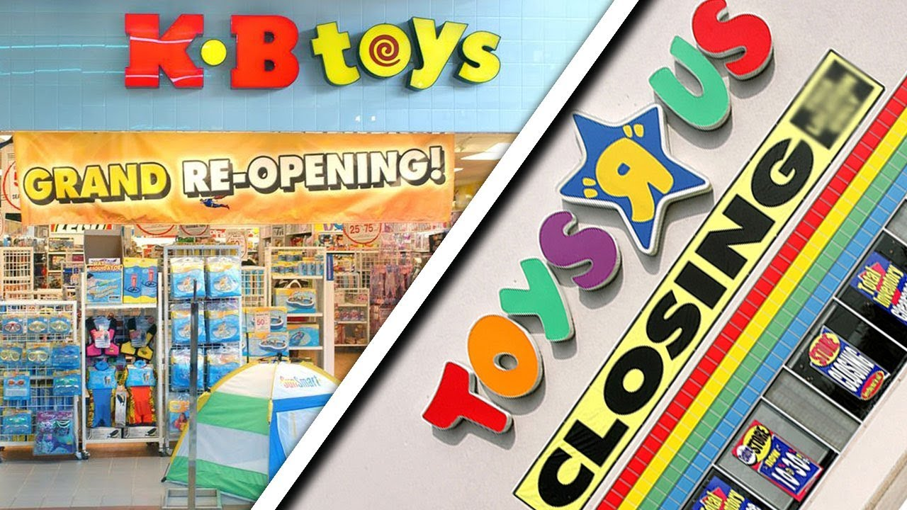 Toys From Kb Toys : Kb toys coming back as r us closes youtube