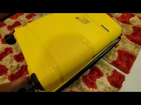 Nasher Miles trolley bag Unboxing and review./Luggage bag/International luggage bag/ Yellow blue